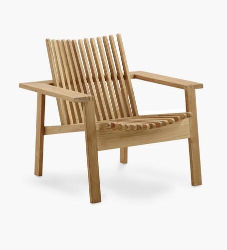 Faze Lounge Chair Outdoor Teak Light Furniture Malaysia